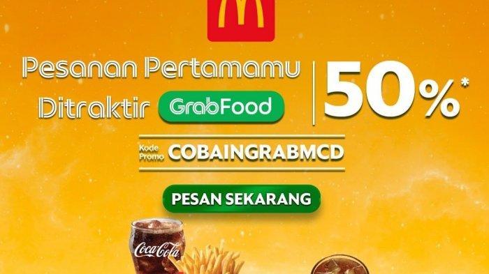 Promo McDonalds Selasa 4 Mei 2021, Promo McDonalds Diskon 50% Khusus Pemesanan via GRABFOOD