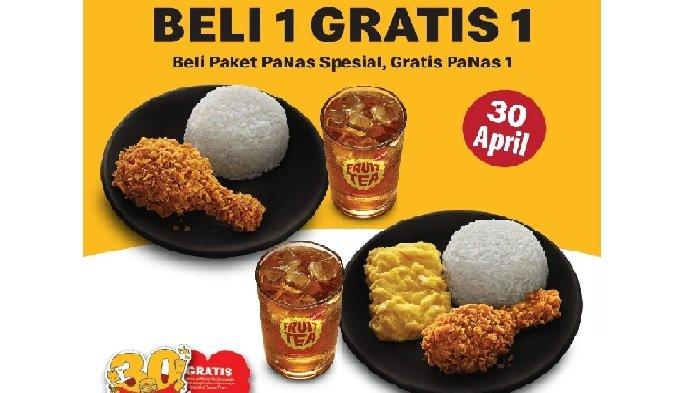 Promo McDonalds Jumat 30 April 2021, Hanya Hari ini Beli Paket PaNas Spesial, Gratis PaNas 1