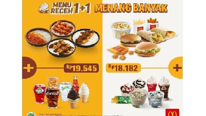 Promo McDonalds Rabu 9 Juni 2021, Promo Menu Receh Beef Burger Plus Apple Pie Rp 18.182