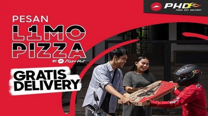 PHD Gratis Delivery Pizza 1 Meter Dengan 5 Toping, Harganya Hanya Rp 220 Ribuan Termasuk Pajak