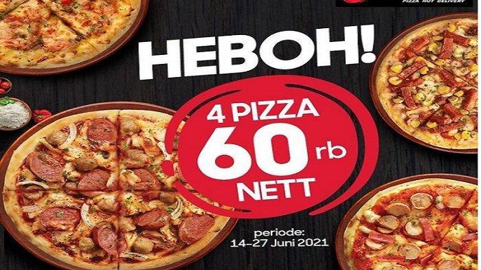 Promo Pizza Hut PHD 4 Pizza HEBOH