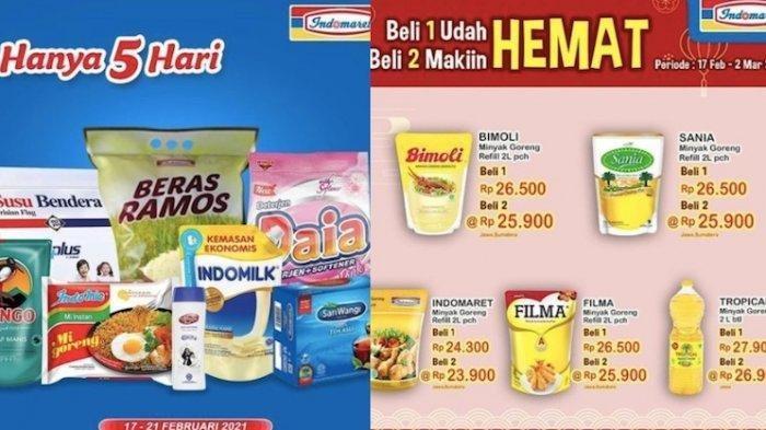 KATALOG PROMO INDOMARET Minggu 28 Februari 2021, Tebus Murah Bimoli 2L Rp25.500 Promo Super Hemat