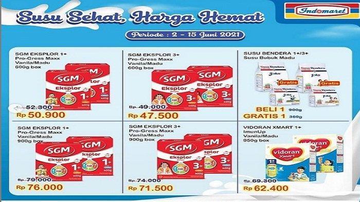 Indomaret Terbaru 2 Juni 2021 Promo Heboh, Beli Susu Bendera 900g Gratis 1 pcs 300gram