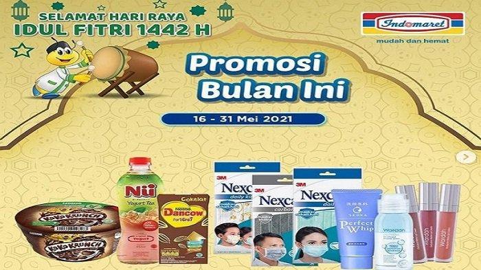 Promo Indomaret Senin 17 Mei 2021, Belanja Produk Merek Indomaret Rp 50 Ribu Hadiah Toples Luminaric