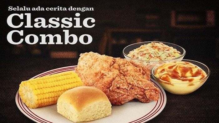 KFC Promo Terbaru Hari Ini 10 Mei 2021 Classic Combo Rp 45.555, Sahur Dengan Kombo Ramadan Rp.34.545