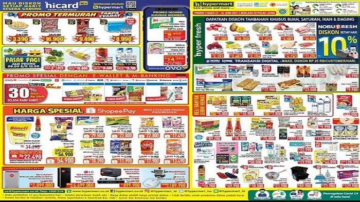 Hypermart Promo Terbaru Selasa 22 Juni 2021 Buah Murah Apel Lychee NagaMerah MelonSky KiwiGold Murah