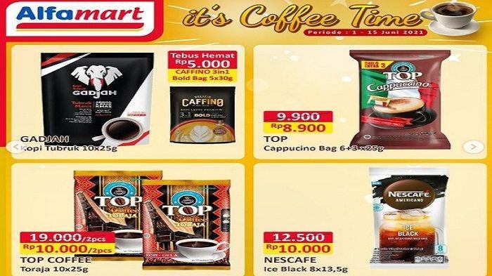 Alfamart Hari ini 7 Juni 2021 Turun Harga Aneka Corned Beef & Sardines Sabun Deterjen Coffee Time
