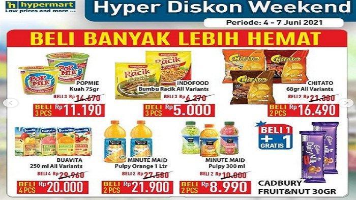 Hypermart Hari Ini 7 Juni 2021 Sambal Botol ABC Rp10.900 Sariwangi Sarimurni Murah, Gula Pasir Rp 1