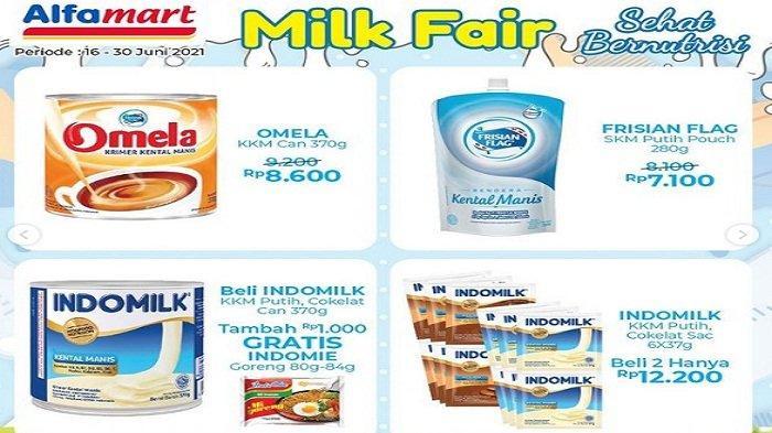 Alfamart Promo 21 Juni 2021 SnackFair KacangDua Kelinci Rp15.900,FrisianFlag Happytoss Beli2 Gratis1