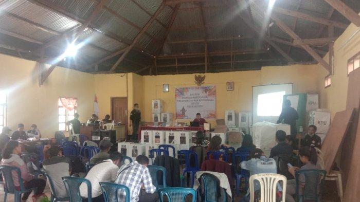 Hasil Pilkada Manggarai: 8 Kecamatan Rekapitulasi Suara Pemilihan Bupati dan Wabup Manggarai, INFO
