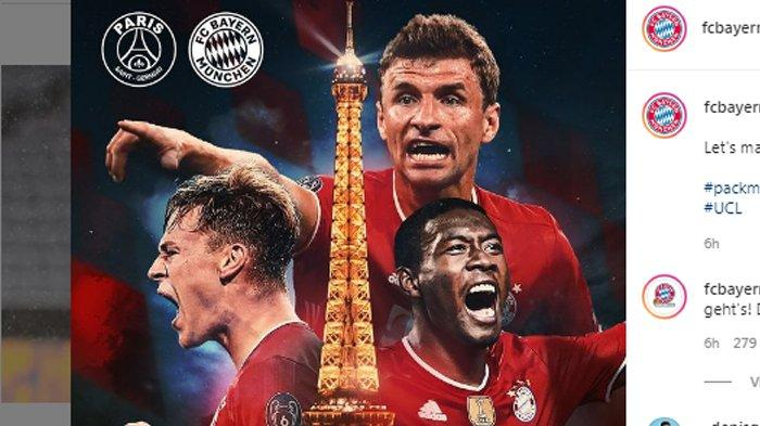 Live Streaming PSG vs Bayern Munchen di Liga Champions ...
