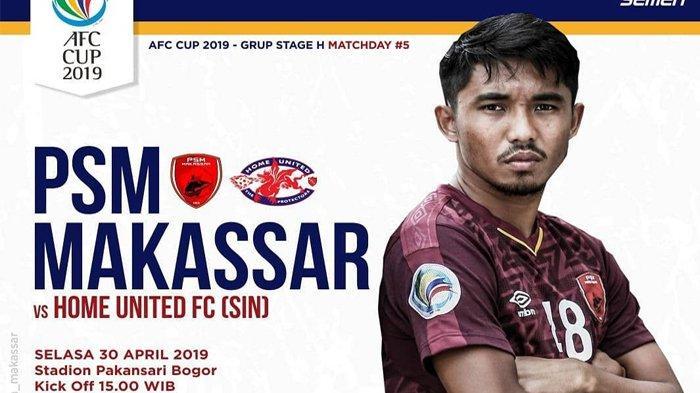 Live Streaming MNC TV PSM vs Home United di Piala AFC 2019, Selasa (30/4/2019) Jam 16.00 WIB