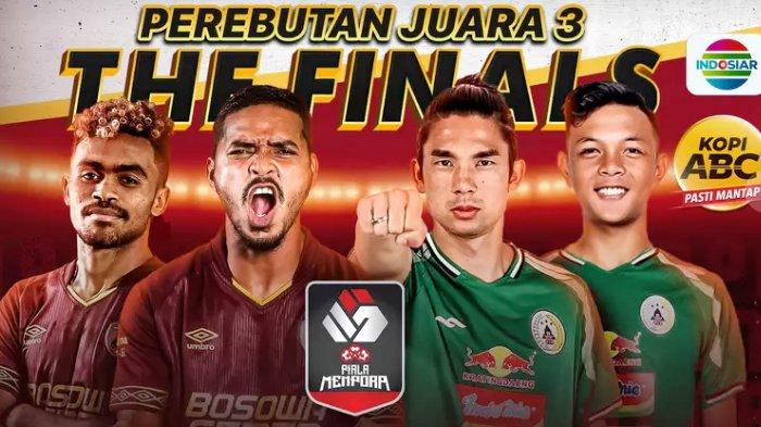 Ikuti pertandingan perebutan posisi 3 Piala Menpora 2021 antara PSM Makassar vs PSS Sleman, Sabtu 24 April 2021 malam.