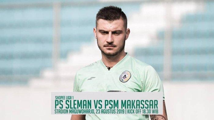Link Live Streaming Indosiar PSS Sleman vs PSM Makassar Liga 1 2019 Jumat (23/8) Jam 18.30 WIB