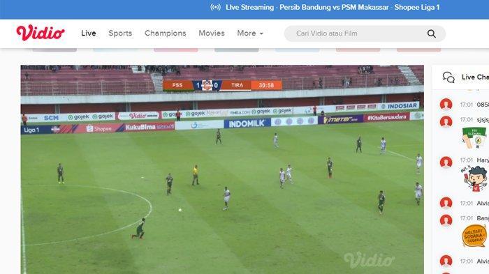 SEDANG BERLANGSUNG Live Streaming Vidio.com PSS Sleman vs Tira Persikabo, Skor Sementara 1-0