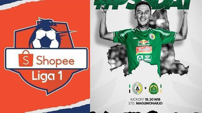 LINK Live Streaming Indosiar PSS Sleman vs Tira Persikabo Liga 1 2020, Minggu 8/3 Jam 18.30 WIB