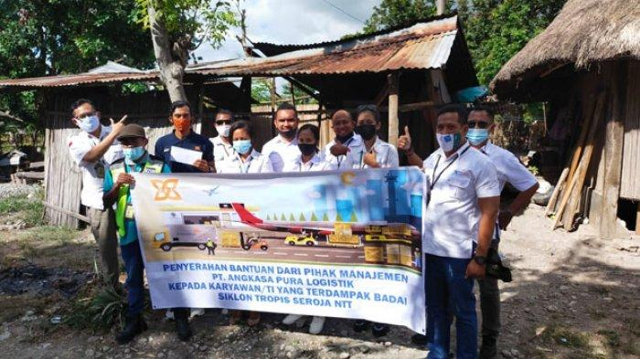 PT Angkasa Pura Logistik Kantor Cabang Kupang Bantu Karyawan Terdampak