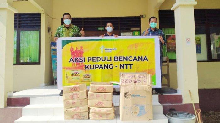 PT Bintang Toedjoe Beri Bantuan Vitamin Joss C dan Masker bagi Warga Kota Kupang