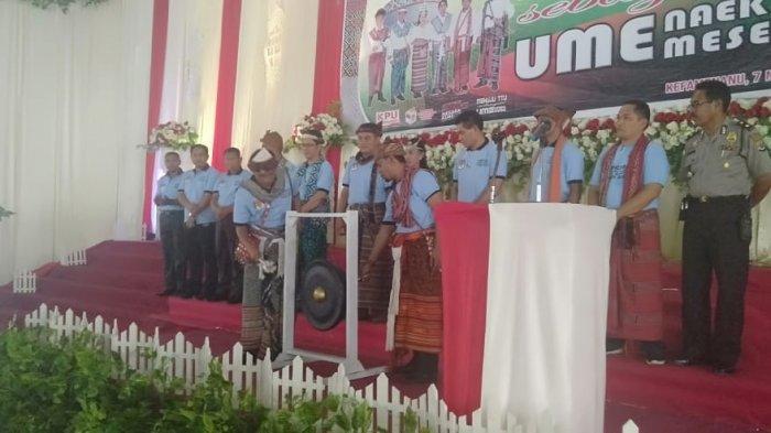 KPUD Launching Tahapan Pilkada TTU Tahun 2020