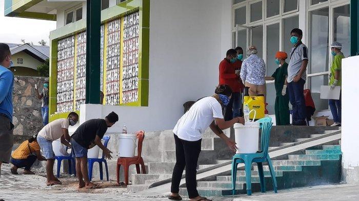 5 Penumpang KM Egon asal Sumba Timur Ditetapkan ODP dan Dikarantina di Puskesmas Kambaniru