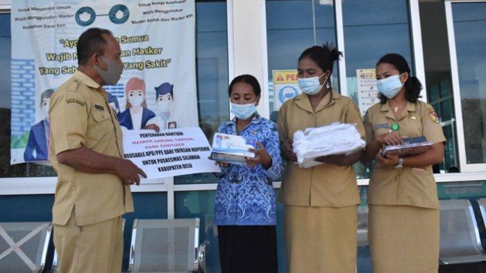 Puskesmas Silawan dan Haliwen Dapat APD dari Yayasan Kopernik Bali