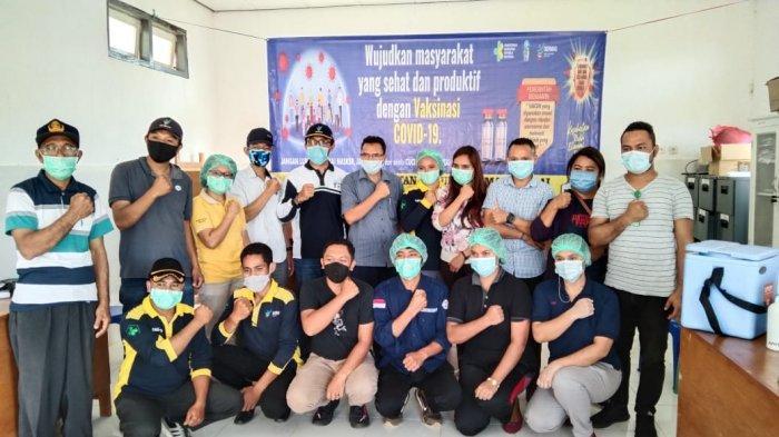 Puskesmas Todo dan Langke Majok Laksanakan Vaksinasi Covid-19 Kedua, Camat Aloisius Bangga!