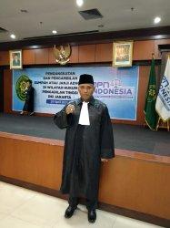 Putra Lembata Diangkat Sumpah Jadi Advokat Oleh Ketua Pengadilan Tinggi Jakarta