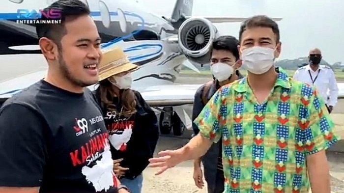 Raffi Ahmad dan Gilang Widya Pramana memberikan sumbangan untuk korban bencana banjir di Kalimantan. Pengiriman bantuan menggunakan pesawat jet pribadi Gilang Widya Pramana.