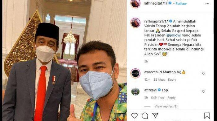 Ada Apalagi Kok Raffi Ahmad Tiba-tiba Kembali ke Istana Kepresidenan? Hingga Ucapkan Hal Ini