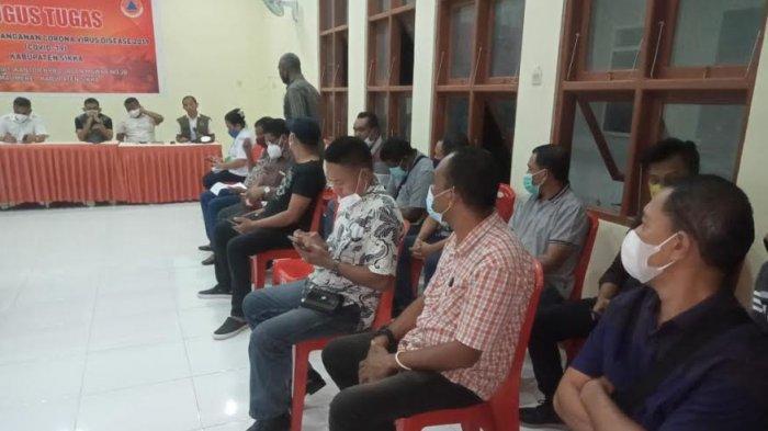 Bupati Sikka Robby Idong Pimpin Rakor Penanganan Tanggap Daruruat Bencana Alam, Simak Hasilnya