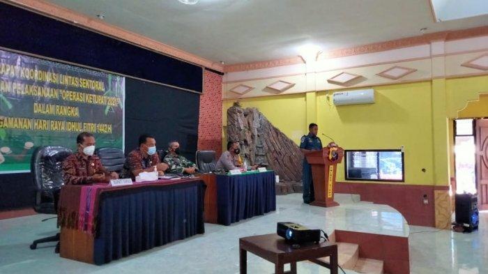 Kapolres Sikka Pimpin Rakor Persiapan Operasi Ketupat 2021