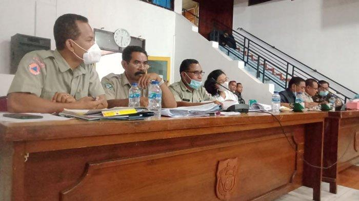 Rapat DPRD Flotim Telusuri Dana Covid-19, Muhidin Demon : BBM Juga Dicovidkan