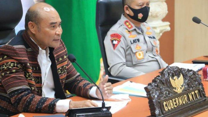Gubernur Viktor Laiskodat Kembali Warning Kepala Daerah : Refocusing Jangan Jadi Alasan