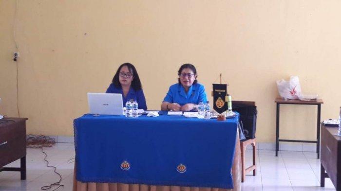 DPD WKRI Provinsi NTT dan Pengurus Cabang di Wilayah KAK Gelar Rapat Periodik