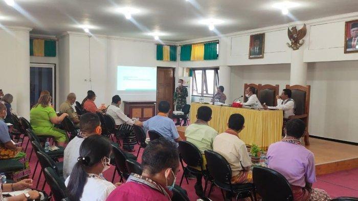 Satgas Kabupaten TTU, Gelar Rapat Terbatas Penanganan Covid-19