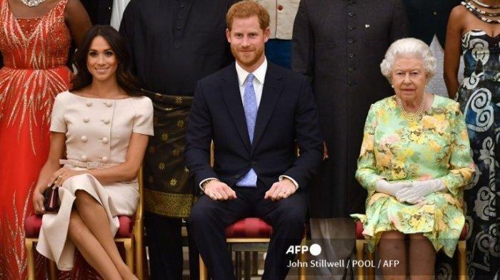Ratu Elisabeth Murka, Borok Kerajaan Inggris Dibongkar Meghan Markle-Pangeran Harry di Oprah Winfrey