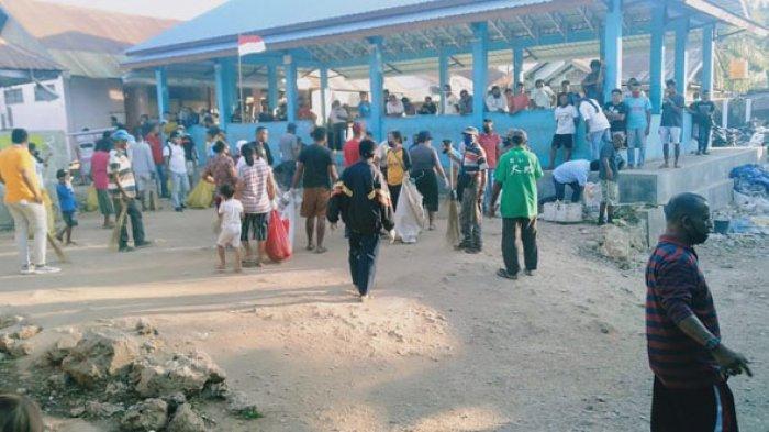 PD Kota Kupang Kini Fokus Penanganan Kebersihan Pasar Gandeng Pemuda Lintas Agama, SALUT!