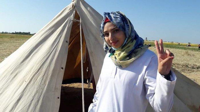 Perawat Wanita Tewas Ditembaki Tentara Israel saat Tangani Pasien Luka di Jalur Gaza