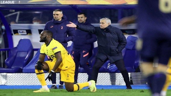 Reaksi Mourinho saat Tottenham Spurs tersingkir dari Liga Eropa
