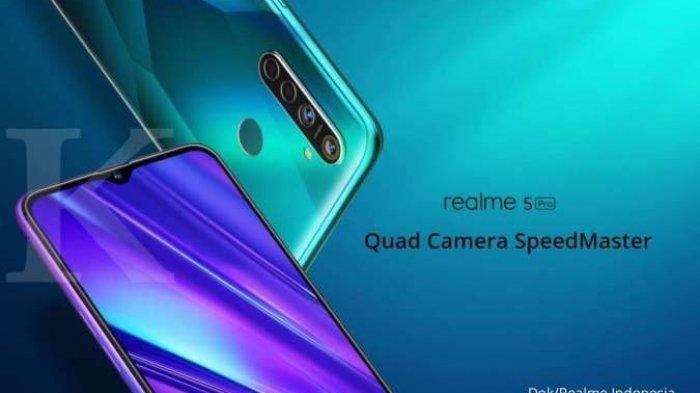 HP Realme 5 Pro Masih Jadi Incaran, Harga Ponsel Realme 5 Pro Sudah Murah Rp 2 Jutaan