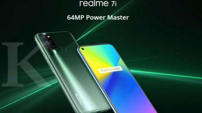 HP Realme 7i Dengan RAM 8GB & Kamera 64MP Harga Hanya Rp 3 Jutaan Saja