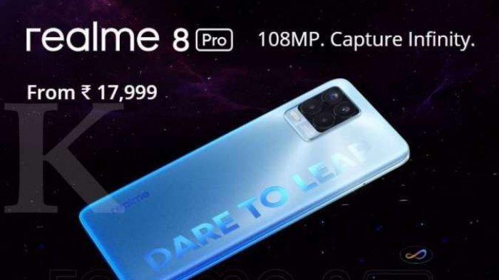 HP Realme 8 Memori 6/128 GB, Harga Rp 3 Jutaan Dengan Chipset Snapdragon 720G