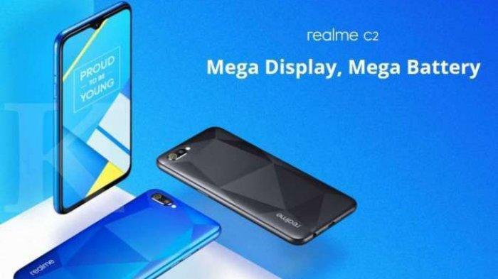 HP Realme C2 Hanya Rp 1 Jutaan, Cek Spesifikasi Ponsel yang memiliki RAM 2/32GB