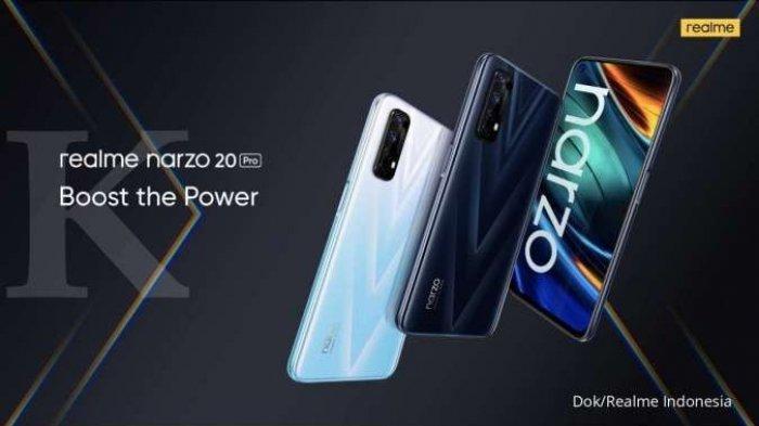 Realme Narzo 20 Pro Harga Rp 3 Jutaan, RAM 8Gb/128 GB Cek Spesifikasi Lengkap