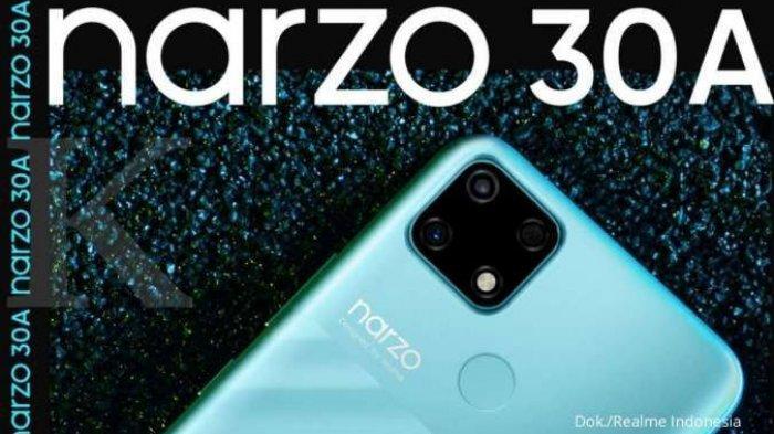 Realme Narzo 30A Khusus Untuk Gaming Jangka Panjang, Baterai Besar 6.000 mAh Harga Rp 1,8 Jutaan