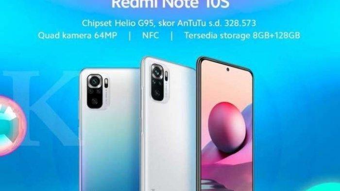Ini Spesifikasi Lengkap Redmi Note 10 dan Redmi Note 10 Pro Serta Harga Di Pasaran