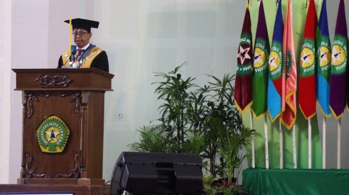 Dies Natalis ke-59, Rektor Undana Kupang Beber Sejumlah Keberhasilan Undana