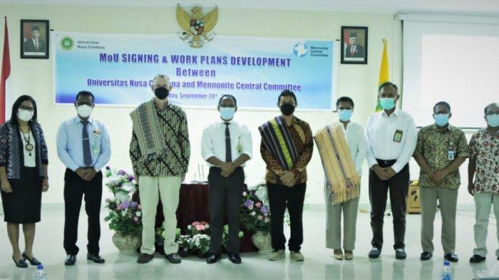 Undana Kupang-Mennonite Central Committee Jalin Kerja Sama