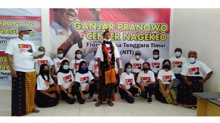Relawan Ganjar di Nagekeo Deklarasi Dukung Ganjar Pranowo Jadi Capres RI 2024-2029