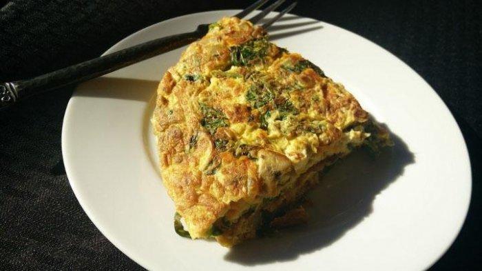 Food Corner: Resep Omelet Jamur dan Tomat Dimasak Hanya 10 Menit
